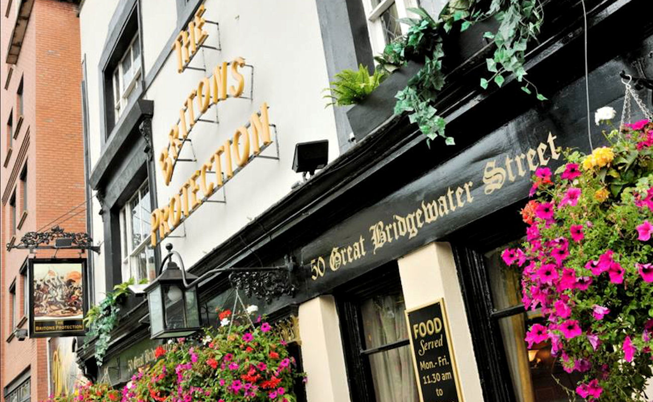 Best Bars In Manchester ~ The Britons Protection