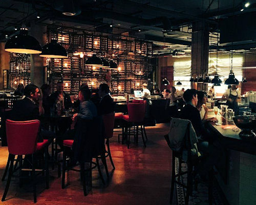 Bars near Manchester Arena ~ Burger & Lobster