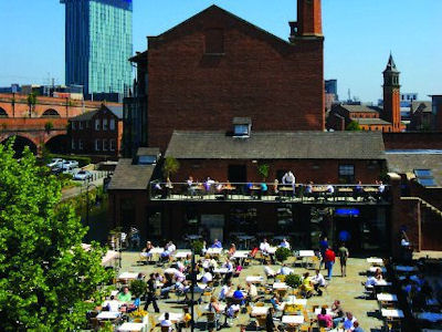 Manchester Bars - Listed by Location Castlefield