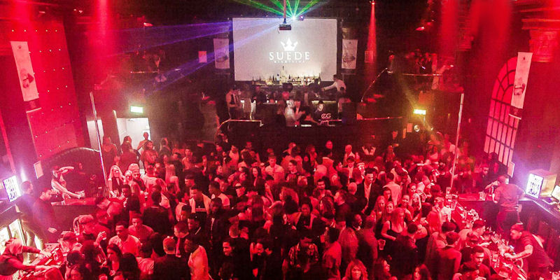 Clubs near the Opera House Manchester ~ Suede Nightclub Manchester