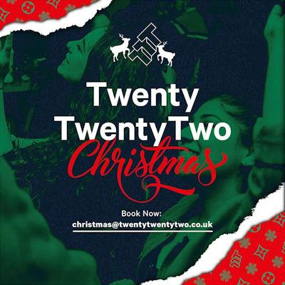 Christmas 2019 Offers Restaurants in Manchester - Twenty Twenty Two