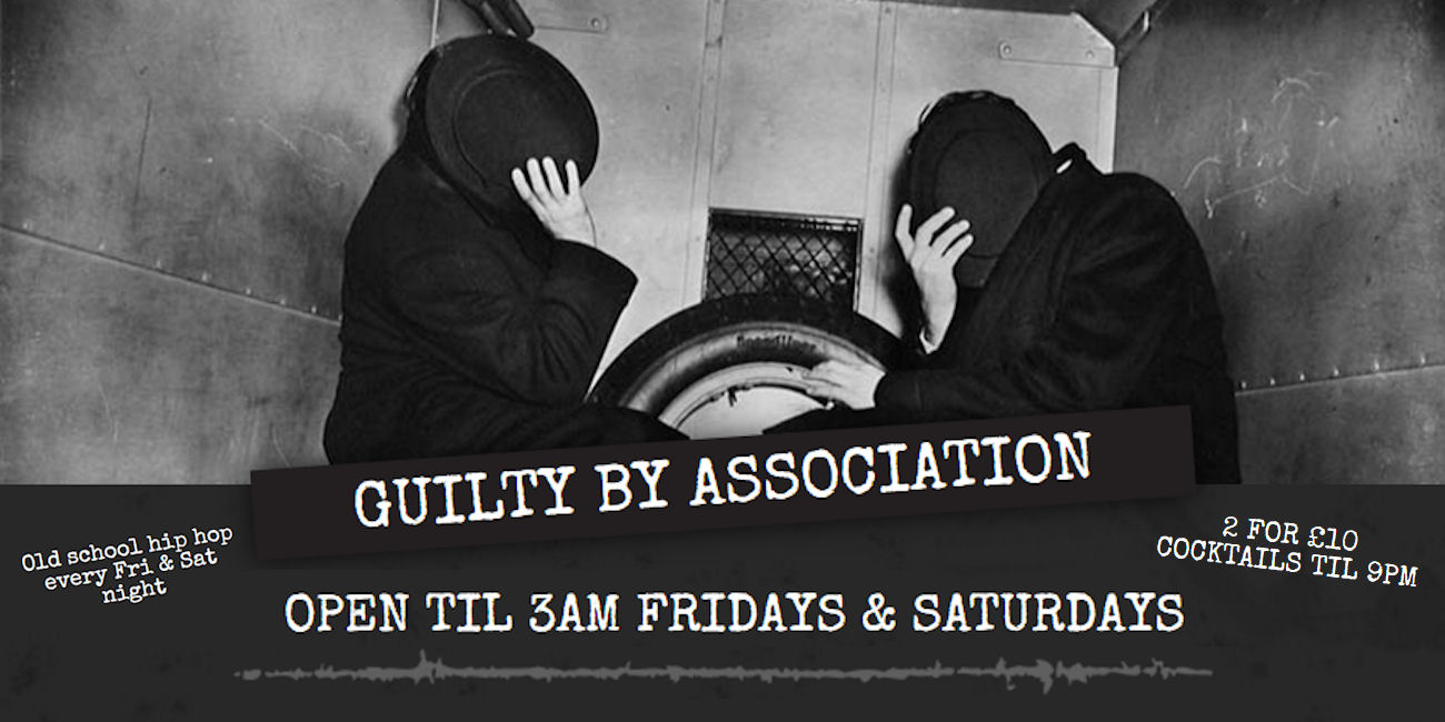 Guilty By Association Bar Manchester