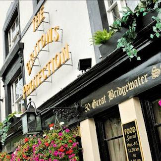 Manchester bars near the Bridgewater Hall
