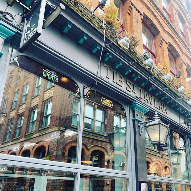 Manchester Bars - Tib Street Tavern Manchester